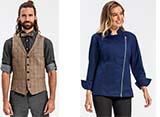Kochkleidung und Service