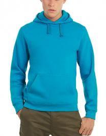 Sweatshirt mit Kapuze und Kängurutaschen