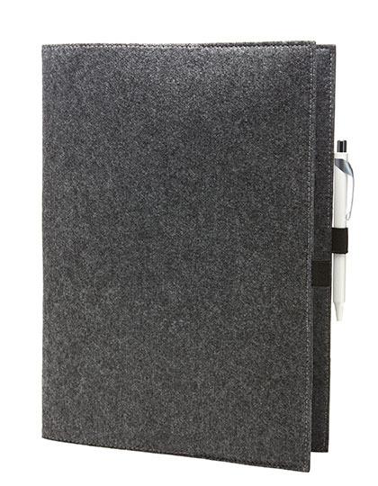 Halfar Dokumentenmapp aus Filz Größe: 24 X 32 X 1 cm 9997