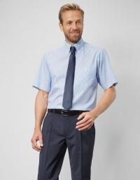 Pionier Herrenhemd 1/2 Arm gestreift P 8180