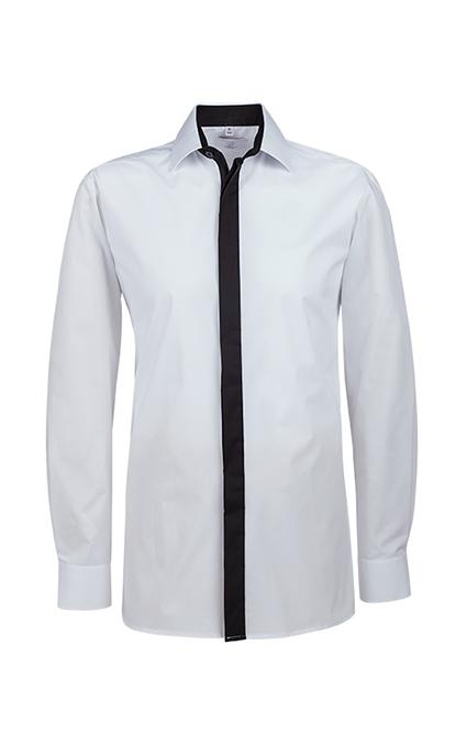 Greiff Herrenhemd BASIC mit Kontrast G 6725.1120
