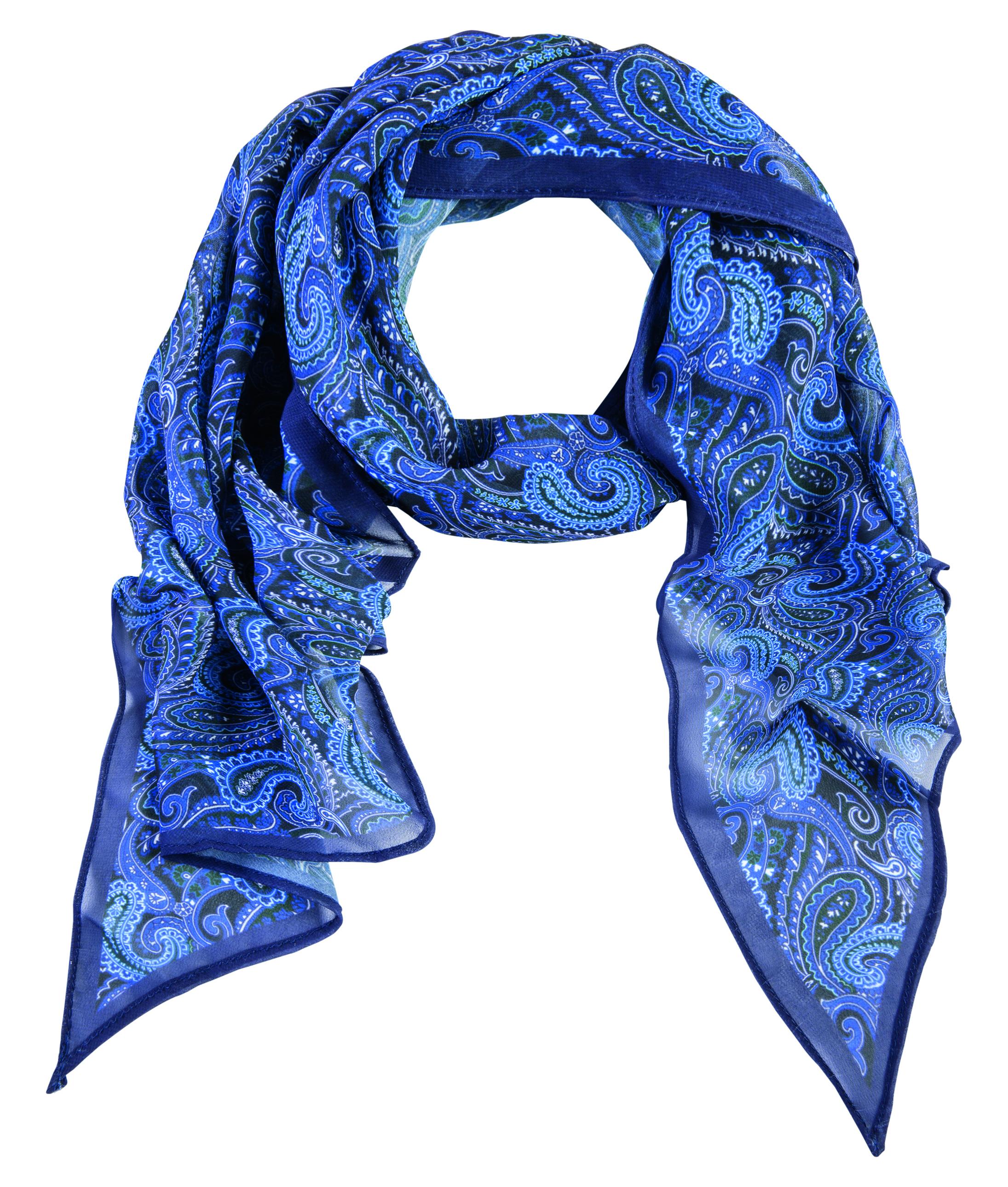 Greiff Damentuch bleu G 6916.9920 b