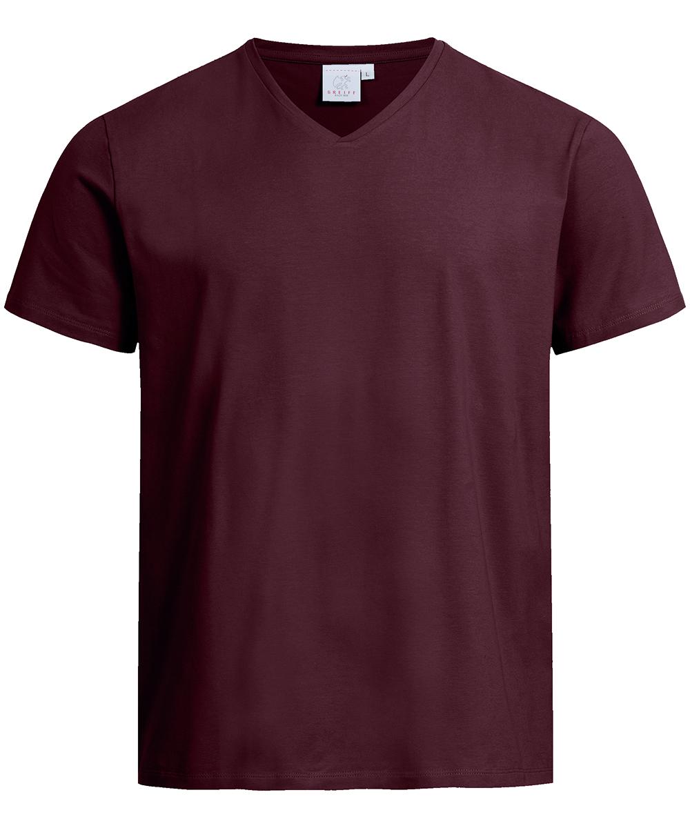 Greiff Shirt V-Neck 1/2 RegularFit 6824.1405