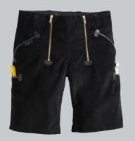 Cord Shorts, schwarz P 2178