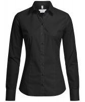 Damen-Bluse 1/1 SlimFit Basic
